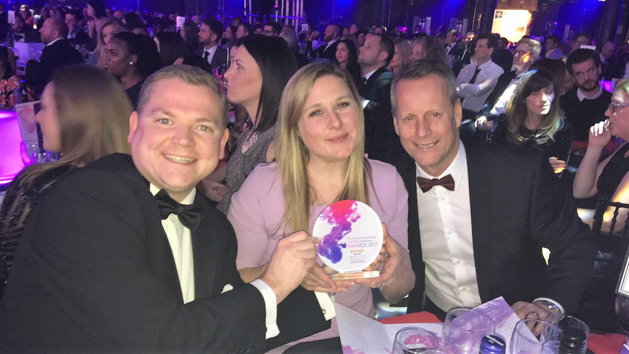 Fieldworks wins CMA Content Marketing Award 2017