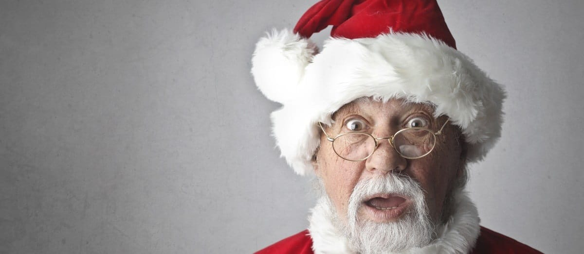 The value of Christmas sales figures